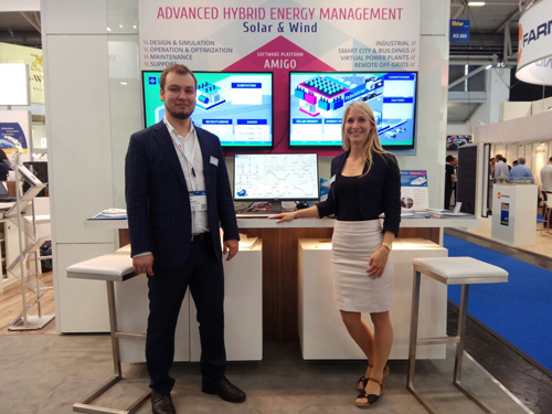 Advanced Hybrid Energy Management by RTSoft at Intersolar Europe-2017